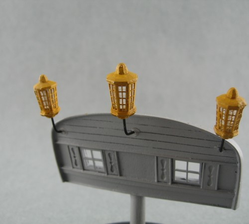 A Set of 3 Stern Lanterns