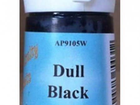 Dull Black Water Based Paint
