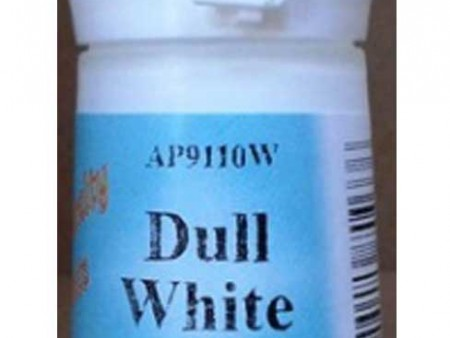Dull White Water Based Paint
