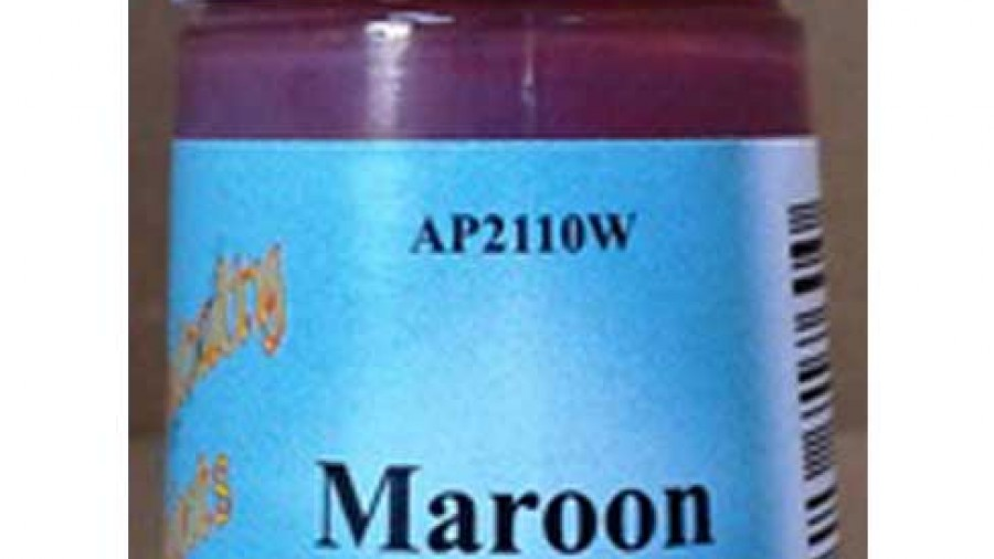 Maroon Water Based Paint