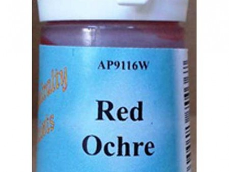 Red Ochre Water Based Paint