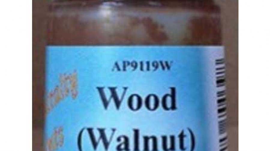 Wood (Walnut) Brown Water Based Paint